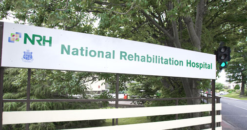 The NRH receives referrals for patients from throughout Ireland requiring specialised medical rehabilitation following an accident, injury or illness.