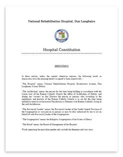 NRH Constitution