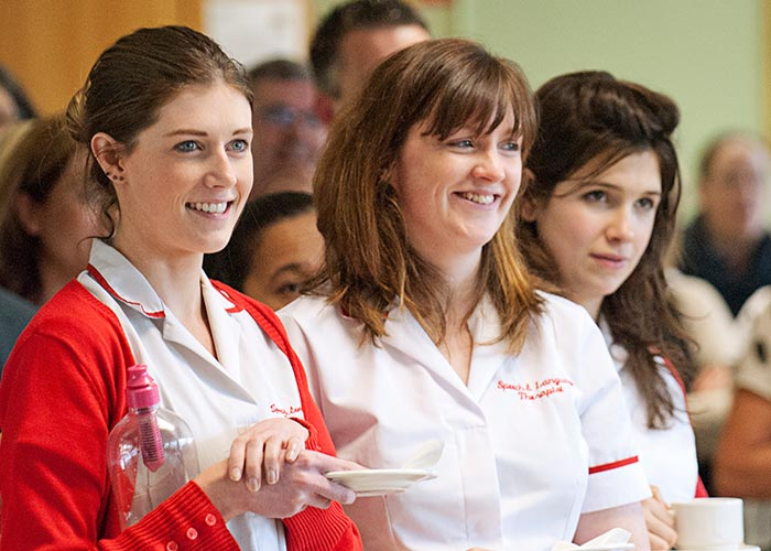 Our Nursing staff provide constant care and encouragement.