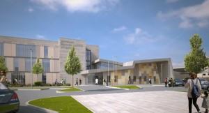 New National RehabilitationHospital_Proposed Front Entrance